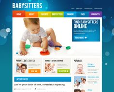 Start your own babysitting or day care business with this excellent Wordpress babysitter theme.