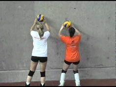 Technical Setting Drills - YouTube