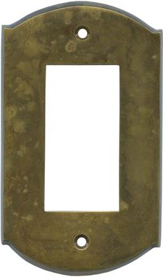 Ovalle Dappled Antique Brass Light Switch Plates, Outlet Covers, Wallplates