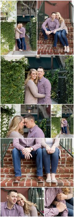 downtown Ocean Springs, Mississippi engagement session by Uninvented Colors Photography (Ocean Springs wedding photographer)