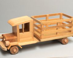 Eco-Friendly Wooden Logging Truck with Logs Wood by Aroswoodcrafts