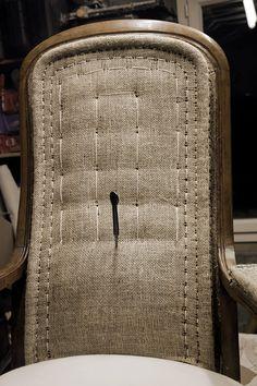 Canapé Diy, Caen, Laurent, Upholstery, Fabric, Pattern, Workshop, Hands, Couture