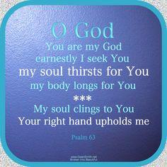 O GOD...let this be my prayer