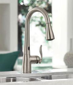 12 best moen arbor motionsense touchless kitchen faucet images rh pinterest com
