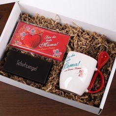Gefüllte Geschenkbox   für die beste Mama