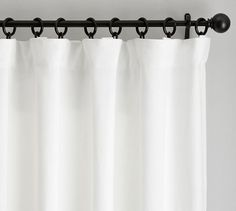 Find Belgian linen curtains from Pottery Barn and dress up your windows in style. Our collection features expertly crafted Belgian linen drapes and window panels. Grey Blackout Curtains, Sheer Linen Curtains, Dark Curtains, Printed Curtains, Grommet Curtains, Bedroom Curtains, Curtains Living, Rod Pocket Curtains, Curtains With Hooks