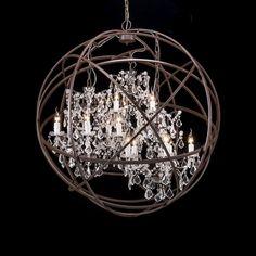 Gyro Crystal Chandelier | wnętrza i dekoracje / interior and ...