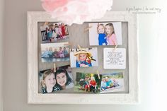 Jocelyn's Room Makeover | Frame with chicken wire to hang pictures