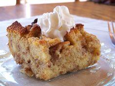 French Toast Bread Pudding | Cook It Up Paleo - almond flour, arrowroot, eggs, coconut oil, honey, apple cider vinegar, coconut milk, raisins, spices