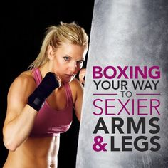 Have you seen how gorgeous Ronda Rousey is? She has such a great body! Box Your Way to Sexier Arms & Legs just like her. #SkinnyMs