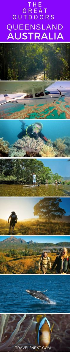 The Great Outdoors – Queensland. Australia�s second largest state is a nature lover�s paradise.