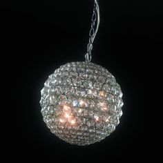 A popular choice in teen bedrooms. Modern Light Fixtures, Pendant Light Fixtures, Shop Lighting, Modern Lighting, Disco Ball, Crystal Ball, Floor Lamp, Chandelier, Bulb
