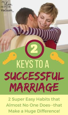 2 Easy, Simple Keys to a Successful Marriage: According to John Gottman, these two things are what it takes for a happy marriage! And they're pretty easy habits to learn, too! http://tolovehonorandvacuum.com/2014/11/in-a-successful-marriage-spouses-scan-for-success-not-failure/?utm_campaign=coschedule&utm_source=pinterest&utm_medium=Sheila%20Wray%20Gregoire&utm_content=In%20Successful%20Marriages%20Spouses%20Scan%20for%20Things%20to%20Praise%20Not%20Criticize