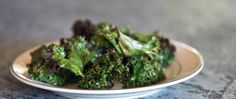 Check out this amazing Recipe from the Spartan Race FOD. Kale Chips! Delicious and Nutritious!