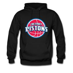 Desic Fashion Detroit Pistons Logo 2016 Men's Original Hoodies Tee Black S -- Awesome products selected by Anna Churchill