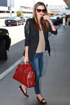 1000+ Images About Miranda Kerr On Pinterest | Black Coats Alexander Mcqueen Bag And Black ...