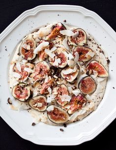 cashew cream and figs by Leela Cyd Ross