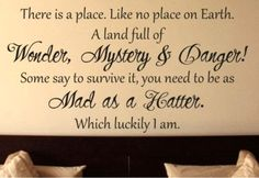 I want this is a fun room-mad hatter