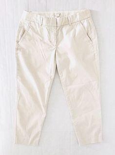 White Pendleton Women/'s Petite Cotton Blend Slim Cropped Capri Pants