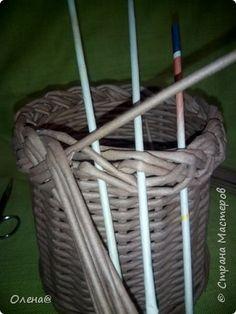 Поделка изделие Плетение Плету косу Бумага фото 8