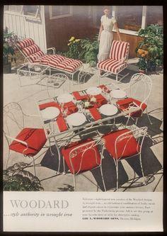sisters antiques catalog of vintage patio woodard 1948 vintage