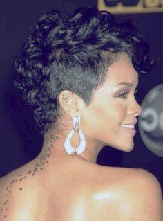 Superb Female Mohawk Hairstyles for Black Women - Hair styles - Hair Designs Short Hair Mohawk, Mohawk Hairstyles For Women, Black Women Short Hairstyles, Short Curly Haircuts, Curly Hair Cuts, Short Hair Cuts, Curly Hair Styles, Natural Hair Styles, Curly Short