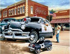 1950 Ford Sheriff Car