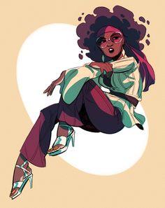 Black Women Art! — areyoujun: Gastly gijinka