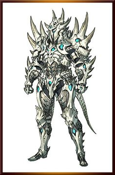 Probably too many spikes to be actually effective, but pretty rad armor ref anyways