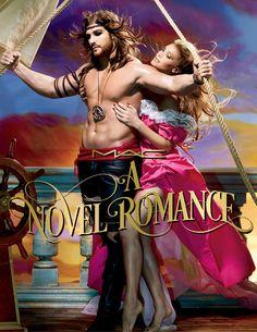 """Sabrina, Julia, Bianca... lembra dos romances de banca? A nova coleção """"Novel Romance"""" da M.A.C tem esse clima! Clica!"""