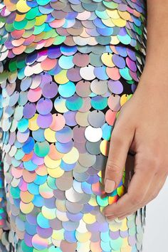 Rainbow sequin x