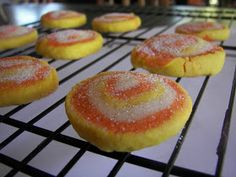 Candy Corn Cookies - These look adorable! I have 75 people to make treats for so maybe these will make the short list since they're easy!