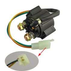 Motorcycle Electrical Starter Solenoid Relay For HONDA