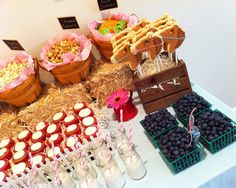 Barn Guest Dessert Feature | Amy Atlas Events