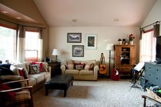Home is Where My Story Begins: My Playful Living Room