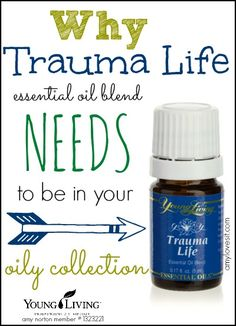 Why Trauma Life needs to be in your oily collection! #oilyfamilies #essentialoils http://www.healwithoil.com/course/getting-started-with-essential-oils/