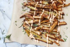 Crispy Oven Baked French Fries | Dancing Through Sunday