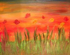 La primavera, olio su tela 50x40, prezzo 350 €