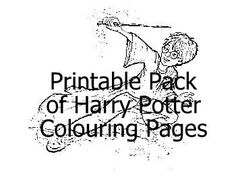 Printable Pack of 11 Harry Potter Colouring Pages