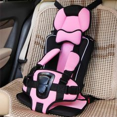 28.41$  Buy here - New Arrival Car Seat Cushion Child,Baby Kids Children Car Seat Car Booster Comfortable Infant Safety,Pink,Orange,Rose Red  #buyonlinewebsite