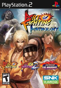 Art of Fighting Anthology (Sony PlayStation 2, 2007)