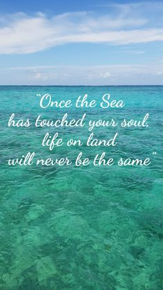 sea quotes The Sea has touched our soul so we decided to explore the underwater world! our snorkeling tips, marine biology posts and ocean related content on Snorkel Around The World! Underwater Film, Underwater World, Underwater Quotes, Summer Beach Quotes, Beach Sayings, Sea Quotes, Words Quotes, Ocean Wallpaper, Wallpaper Quotes