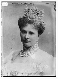 """Princess Maria Josepha of Saxony (31 May 1867 – 28 May 1944) was the mother of Emperor Charles I of Austria and the fifth child of George of Saxony and Infanta Maria Anna of Portugal."""" Her son was the last Habsburg monarch."""
