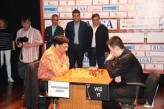 The final between #Anand and Wei Yi followed on Sunday, the second day of the event. Anand took an early lead by winning the first game - maybe it was his huge experience that made fortune helps him.