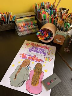 Bff, Bullet Journal School, Happy Birthday Gifts, Boyfriend Anniversary Gifts, Pretty Pictures, Diy And Crafts, Doodles, Creative, Instagram