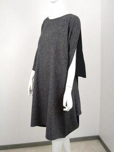 Robe diamant tweed Tweed, Diamond, Wool, Dress