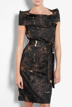 Printed Cylinder Dress by Vivienne Westwood Anglomania
