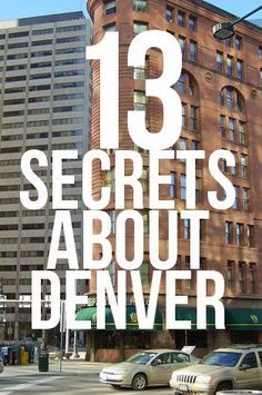 Denver is full of history, and no one knows it better than the city's tour guides. Here are 13 pieces of trivia that give you an inside look at the Mile High City. Moving To Denver, Denver Travel, Moving To Colorado, State Of Colorado, Colorado Springs, Travel Usa, Colorado Trip, Colorado Facts, Denver Colorado Vacation