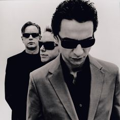 Coolest band picture ever, it's simply perfect! Depeche Mode by Anton Corbijn
