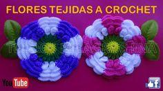 Flor # 11 tejida a gancho o crochet paso a paso